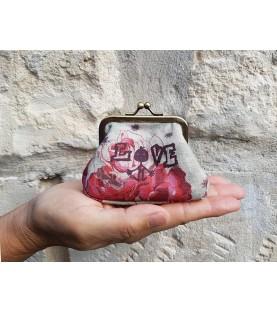 Porte monnaie Love